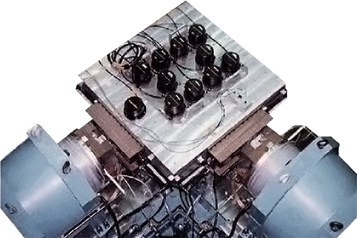 Long-stroke 3-axis simultaneous Seismometer Calibrator G-6230-3LT-115